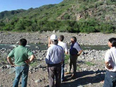 Avanza el proyecto para construir gaviones en los ríos Astica, Valle Fértil y Usno