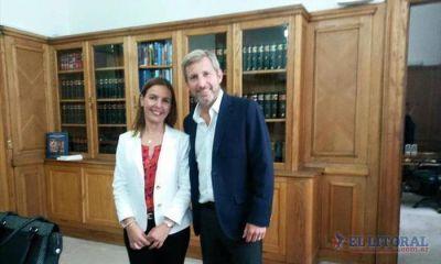 Designan a la intendenta Ingrid Jetter titular del Fondo Nacional de Vivienda