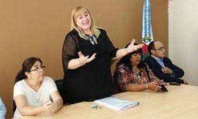 Se completó el gabinete que acompaña a Griselda Herrera