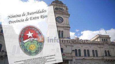 El listado de funcionarios de Entre Ríos: los casos más llamativos
