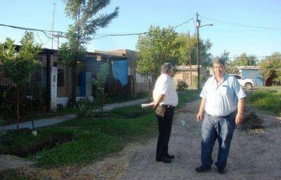 Buscan regularizar el servicio eléctrico en asentamientos