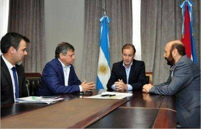 Peppo coordinó acciones con sus pares de Entre Ríos y Formosa