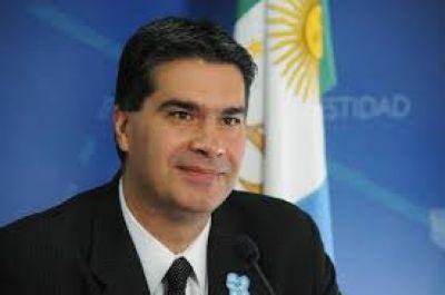 La elección interna nacional del PJ se realizaría el 17 o el 24 de abril, anticipó Jorge Capitanich