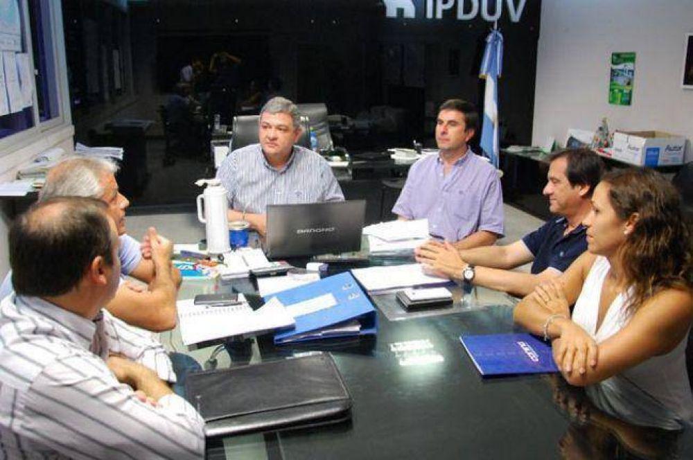 IPDUV y la Cámara de la Construcción definieron un planteo para elevar a la Nación