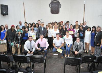 Destacaron a muralistas y a empresas por su aporte al Programa de Responsabilidad Empresaria