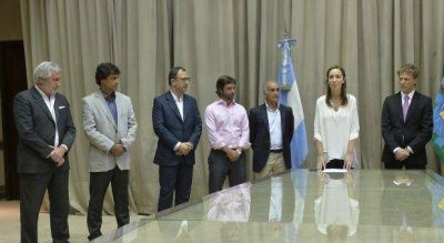 Vidal puso en funciones a Gastón Fossati, nuevo titular de ARBA que reemplaza a Budassi
