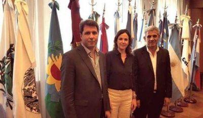 Uñac y Allende pidieron fondos para construir los Hogares de Día