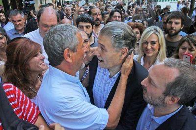 Ferraresi participó en Plaza de Mayo del acto en defensa de la libertad de expresión