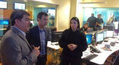 Analizan replicar en la provincia el sistema de monitoreo digital de emergencias policiales