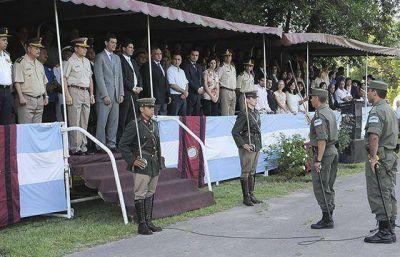 Urtubey asistió a la asunción del nuevo Jefe de la Agrupación VII
