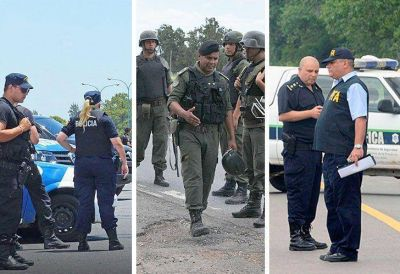 Triple fuga: todas las fuerzas de seguridad están siendo investigadas