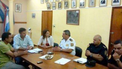 La Municipalidad y la Polic�a avanzan en pol�ticas comunes