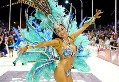 """""""La concurrencia del público es similar a la segunda noche de los últimos años"""" señaló el presidente del Carnaval."""