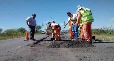 La provincia realizará obras de bacheo en 1000 km de rutas
