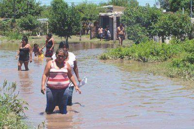 Más de 100 familias fueron asistidas tras el temporal