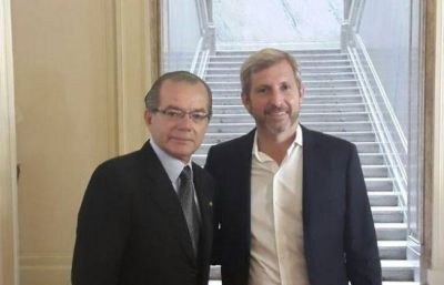 Cipolini gestionó obras para Sáenz Peña