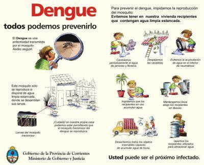Dengue: El sistema de salud refuerza las medidas de prevención