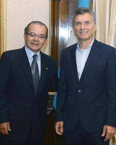 Macri recibió a Gerardo Cipolini y prometió terminar la autovía que une Sáenz Peña con Resistencia