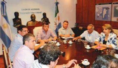 Peppo y Sampayo analizaron propuestas para beneficiar al empleado municipal