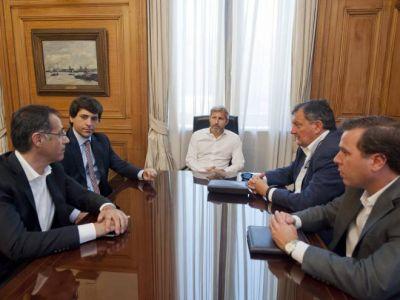 Gennuso se reunió con ministro de Obras Públicas y Vivienda de la Nación