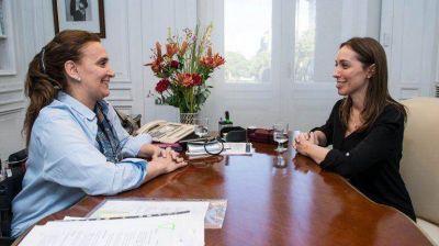 Gabriela Michetti busca restaurar el despacho que Amado Boudou reformó con fondos de emergencia