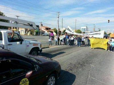 Crisis municipal en Salta: Un corte de ruta complica a�n m�s la situaci�n en Cerrillos