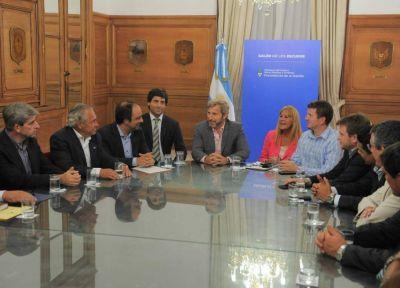 Intendentes de la UCR y el PRO se reunieron con Frigerio