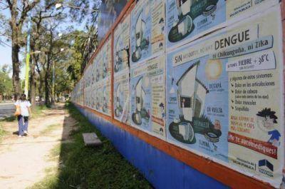 Suman tres los casos de dengue en la provincia, todos infectados en Paraguay