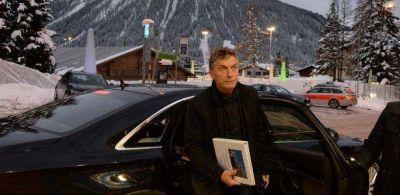 En su primera jornada en Davos, Macri se reunió con empresarios e inversores