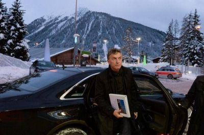 Macri encara en Davos las primeras reuniones con CEOs de varias multinacionales