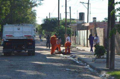 Intensifican tareas de limpieza y fumigación en los barrios