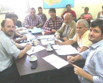 Titular de APREVIDE analizó políticas de seguridad con concejales