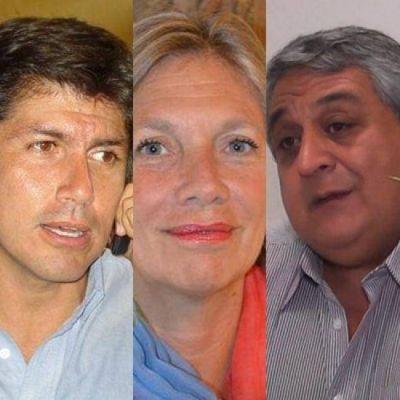 Vilariño, Quilodrán y Mazzone con trabajo en la Casa de Salta