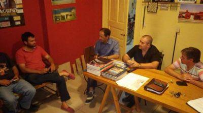 El grupo de Gustavo Durquet no se quiere quedar afuera de la cancha