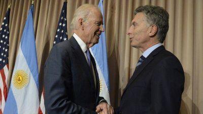 Mauricio Macri se reunió con Joe Biden, vicepresidente de los Estados Unidos