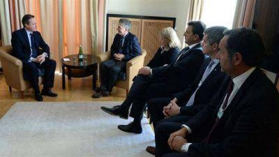 Massa cenó anoche con Macri y hoy lo acompaña en sus reuniones con mandatarios