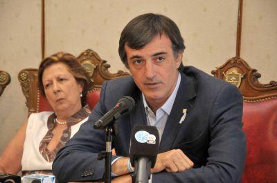 El ministro de Educación de la Nación, Esteban Bullrich, visita San Luis