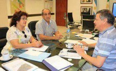 Aranda continúa gestionando ante el Ejecutivo provincial
