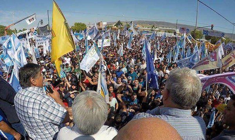 """Patagonia rebelde: Ávila prometió """"un país en llamas, sin gas y sin petróleo"""""""