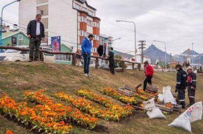 El intendente Vuoto recorrió obras y barrios de la ciudad