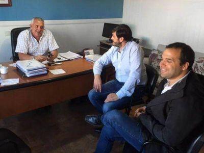 Roberto Borselli recibió a Mauro Casarini