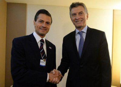 Macri y Peña Nieto apostaron a profundizar el vínculo comercial entre ambos países