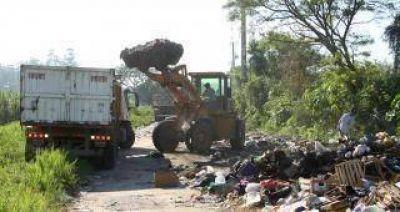 Retiraron 820 mil kilos de basura en cinco días en la vía pública