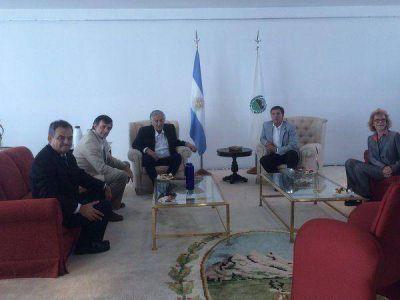 Entre anuncios y actividades políticas, Esteban Bullrich visitó San Luis
