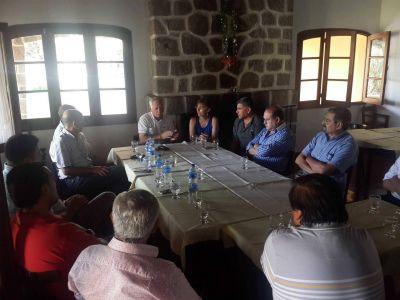 Encuentro cumbre del FCS en Paclín