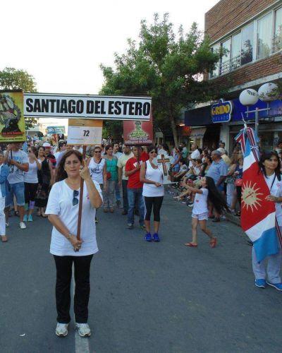 Las bondades de Santiago se promueven en Cosquín y Carlos Paz