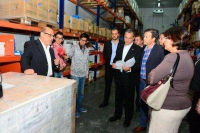 Laboratorios Puntanos entregó medicamentos al Ministerio de Salud