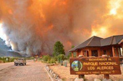 Anticipan novedades sobre los incendios