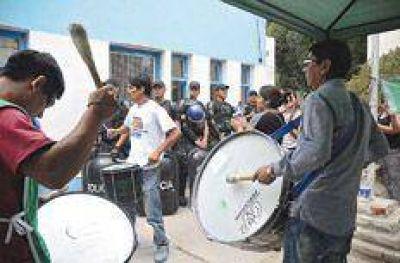 La política del marche preso por protestar