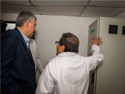 MORALES ENFRENTA EL DESAF�O DE LLEVAR AGUA A TODA LA PROVINCIA